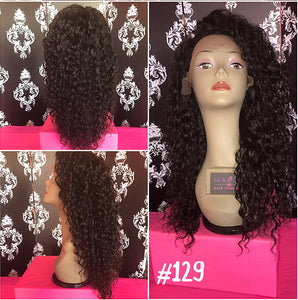 "18 deep body wave human hair natural 1b full lace glueless wig<iframe width=""560"" height=""315"" src=""https://www.youtube-nocookie.com/embed/ffllW32XWAI"" frameborder=""0"" allow=""accelerometer; autoplay; encrypted-media; gyroscope; picture-in-picture"" allowfullscreen></iframe>"
