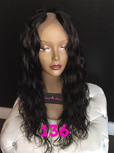 "18"", U-Part, Body Wave, Full Lace"