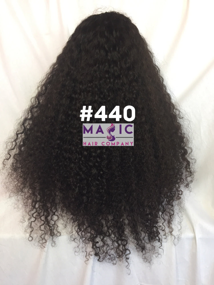 "24"" kinky curly front lace"
