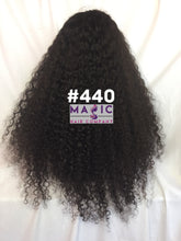 "Load image into Gallery viewer, 24"" kinky curly front lace"