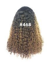 "Load image into Gallery viewer, 16"", Kinky Curly , front lace,Ombre"
