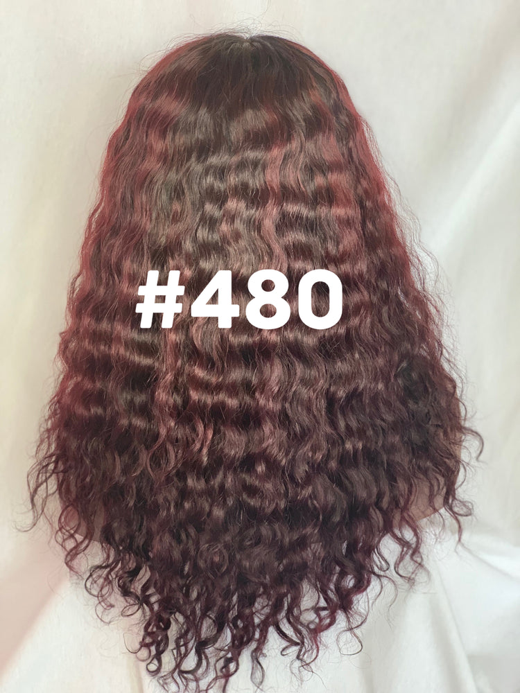 "Load image into Gallery viewer, 16"", Deep body wave  Deep red"