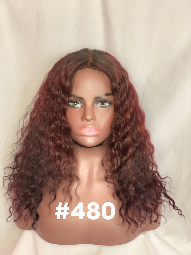 "16"", Deep body wave  Deep red"