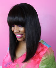 "12"" Straight, Bob Front lace"