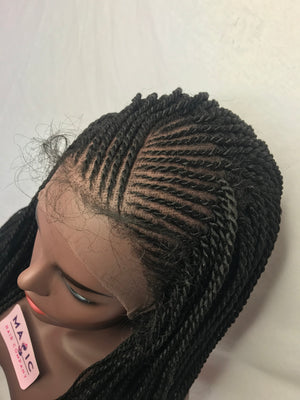 Load image into Gallery viewer, Braided Wig 603