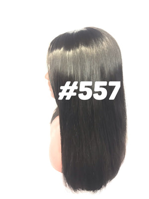 "beautiful and luxurious Silky Straight, 16"", front lace"