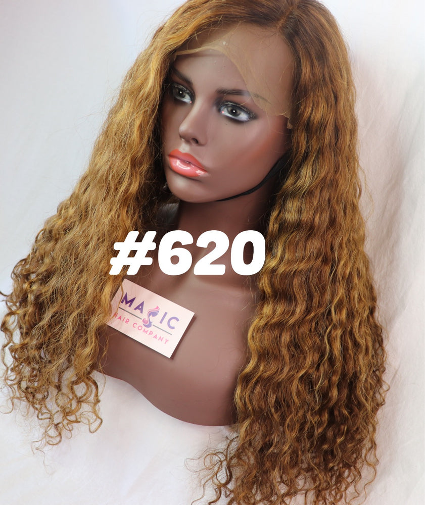 "Unit #620 is a beautiful and luxurious curly, 22"", front lace"