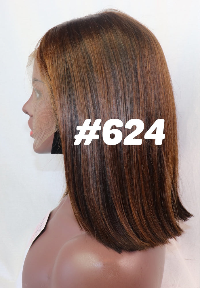 "12"", front lace, Custom colored BOB"