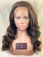 "Yaki Straight 16"", front lace, Natural"