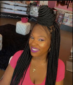 "22"",Braid Wig, front lace"