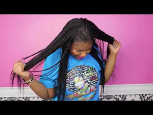 Load and play video in Gallery viewer, Braided Wig 603