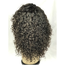 12 deep body wave full lace curly human hair 1b natural glueless wig