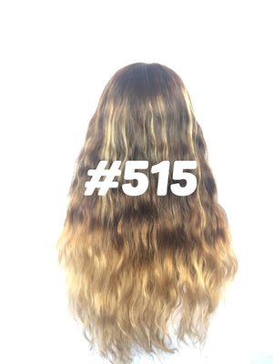 "20"", front lace, light brown Ombre"
