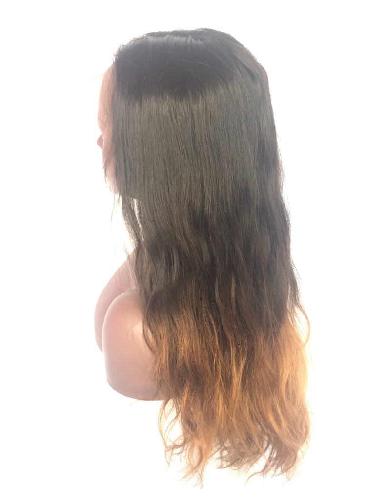 "Body wave, 20"", front lace, Custom Ombre"