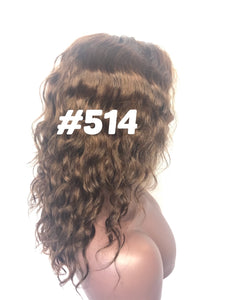 "12"", front lace, #4 Brown"