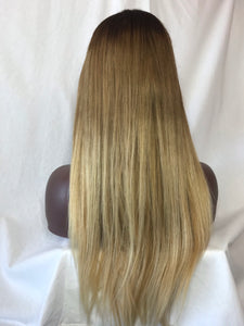"18"", Silky Straight, Custom colored"