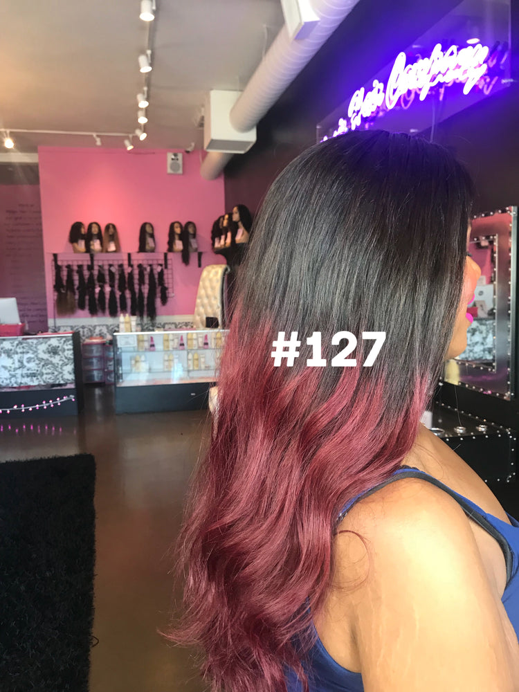 "20"", silky straight, front lace"