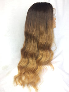 "22"", Body Wave, Custom Color, Front Lace"
