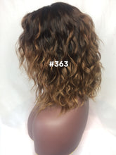 "12"", Body Wave, Brown Ombre, Front Lace"