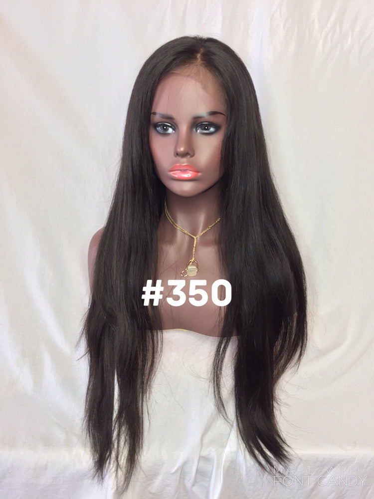 "22"", Silk Straight, 360 Lace"