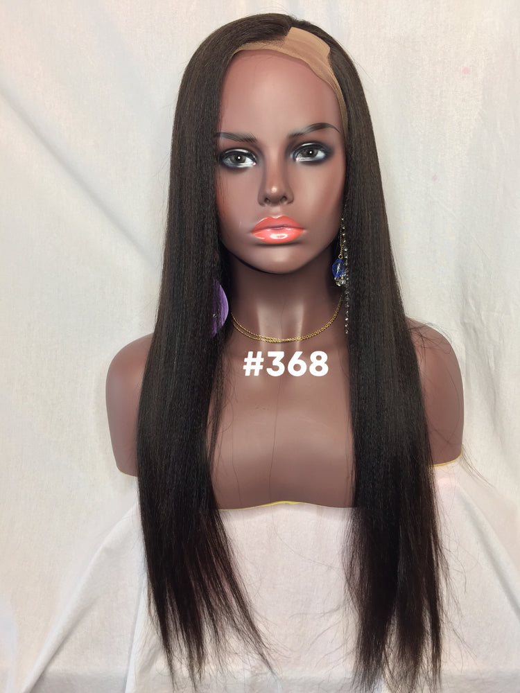 "20"", Yaki Straight, Full Lace, Left U-Part"