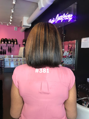 "10"", Silky Straight, Highlights, Front Lace"