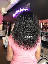 14 curly full lace 1b natural human hair extension glueless wig
