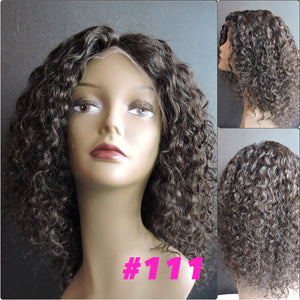 "10"" Curly, Full Lace"