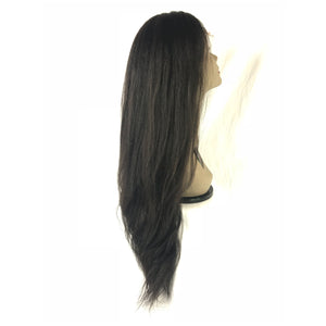 "Load image into Gallery viewer, 20"", kinky straight, front lace"