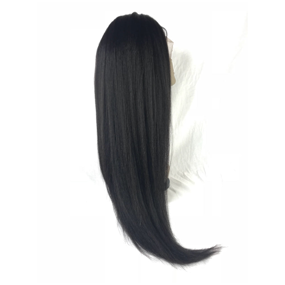 "Load image into Gallery viewer, 18"", kinky straight, front lace"