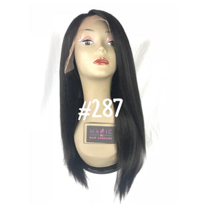 "16"", kinky straight, front lace"