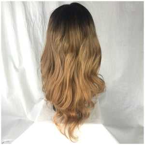 "16"", silky straight, full lace, custom color"