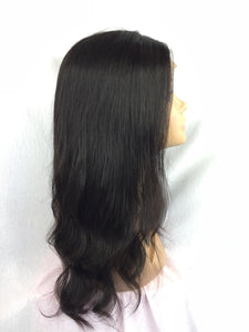 "16""  Silky Straight , Full Lace"