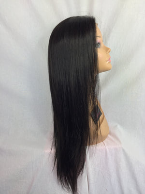 "20"", Silky straight, 360 lace front"