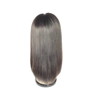 "14"", Front Lace, Silky Straight"