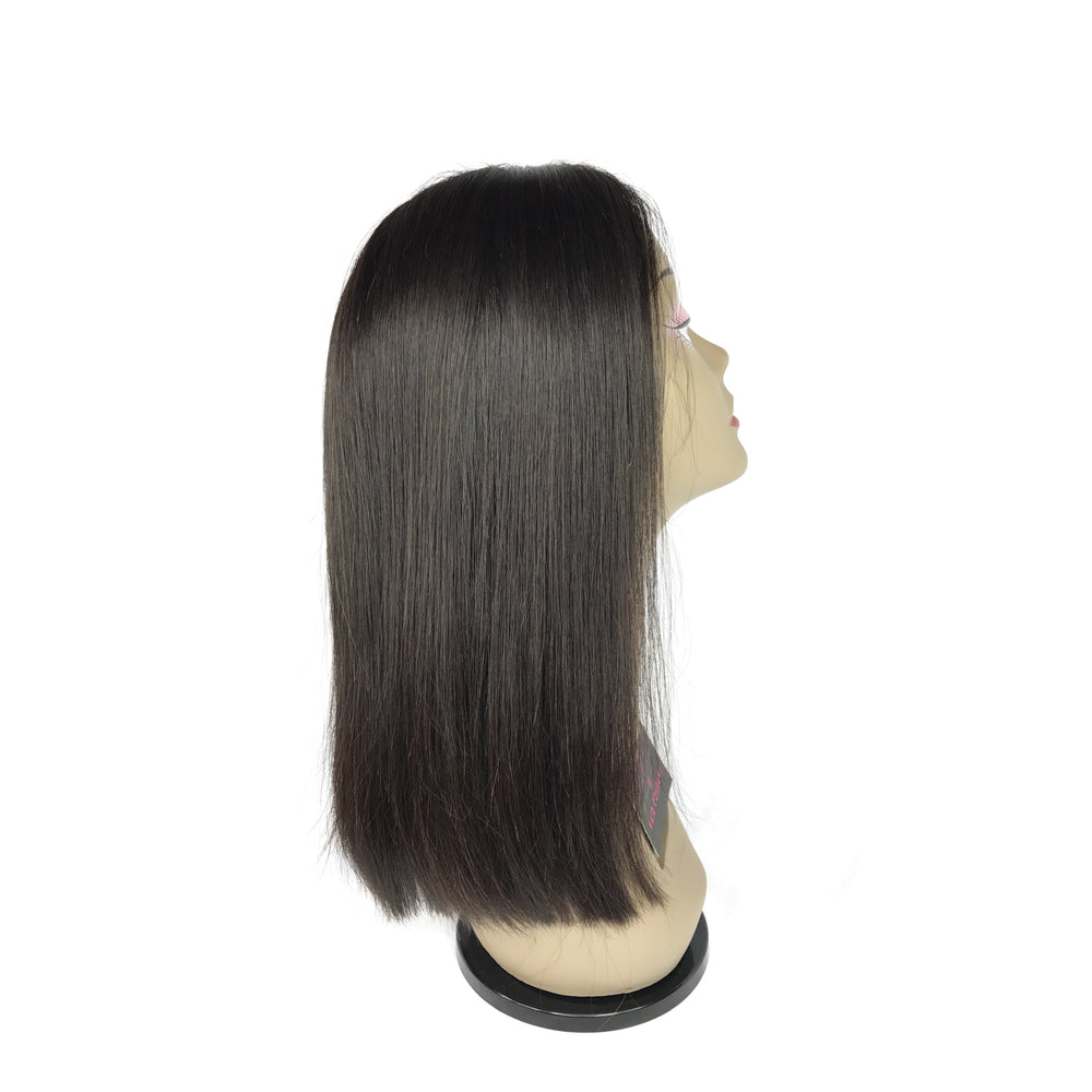 "Load image into Gallery viewer, 14"", Front Lace, Silky Straight"