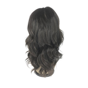 "10"", silky straight, full lace"