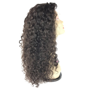 "16"" Curly, Full Lace"