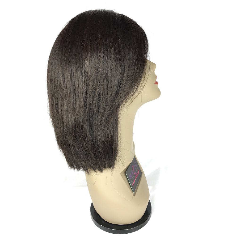"10"" Silky Straight, Front Lace"