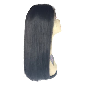 "18"", Front lace, Silky Straight"