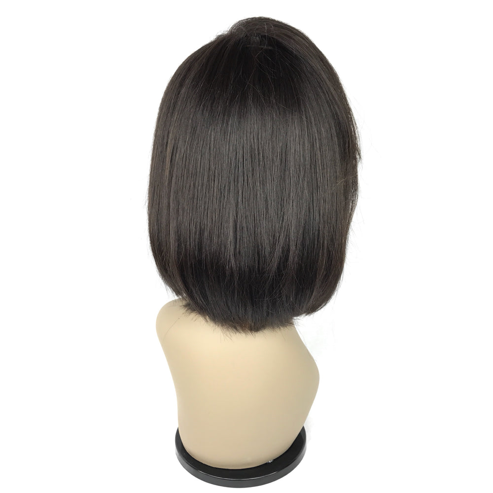 "10"", silky straight, front lace"