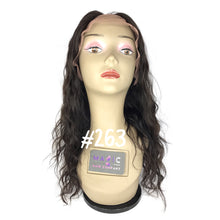 "Load image into Gallery viewer, 14"", front lace, U-part, Body Wave"