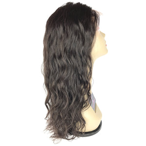 "14"", front lace, U-part, Body Wave"