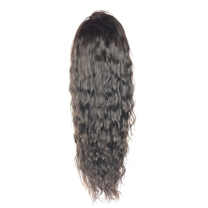 22 body wave 360 front lace human hair glueless wig