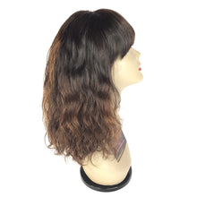 "Load image into Gallery viewer, 14"" Front Lace, Bangs, Ombré, Body Wave"
