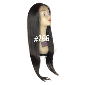 "22"", front lace, Silky Straight, 360 Frontal"