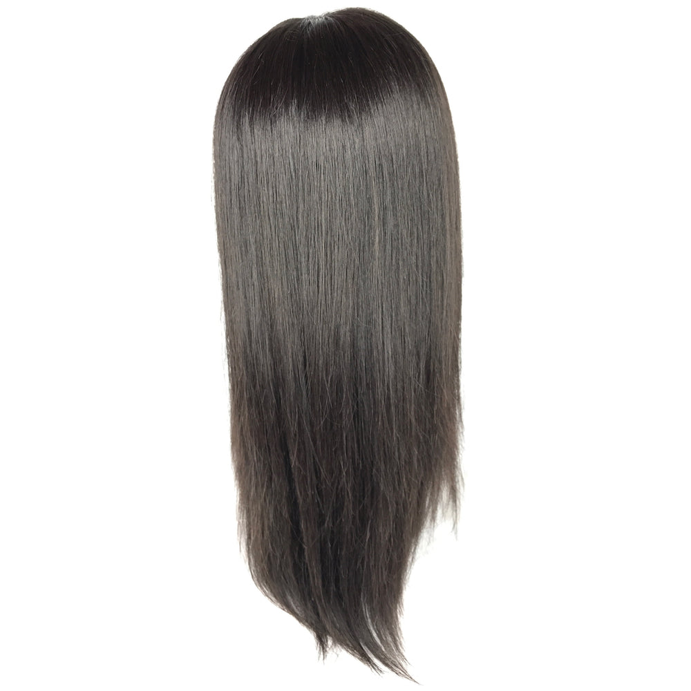 "14"", Full lace, Silky Straight"