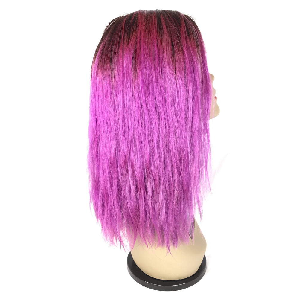 "Load image into Gallery viewer, 12"", Silky Straight, custom purple"
