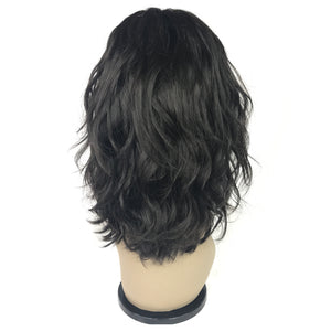 10 body wave front lace human hair  glueless wig