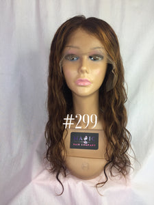 "18"", body wave, custom colored, full lace"
